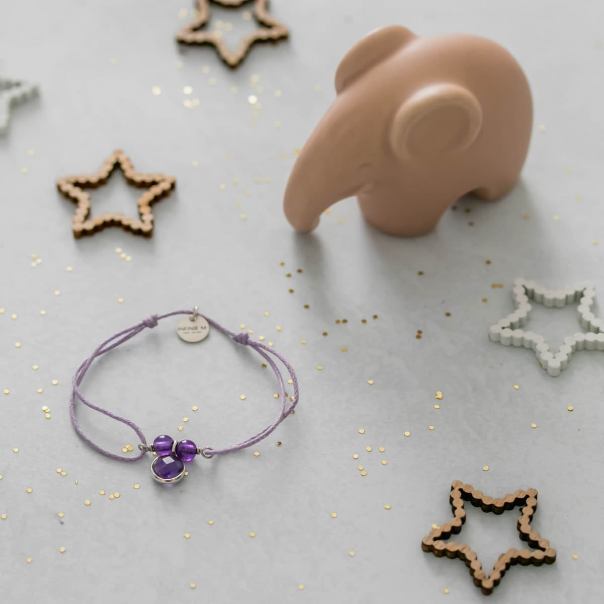 Bracelet enfant «Améthyste»
