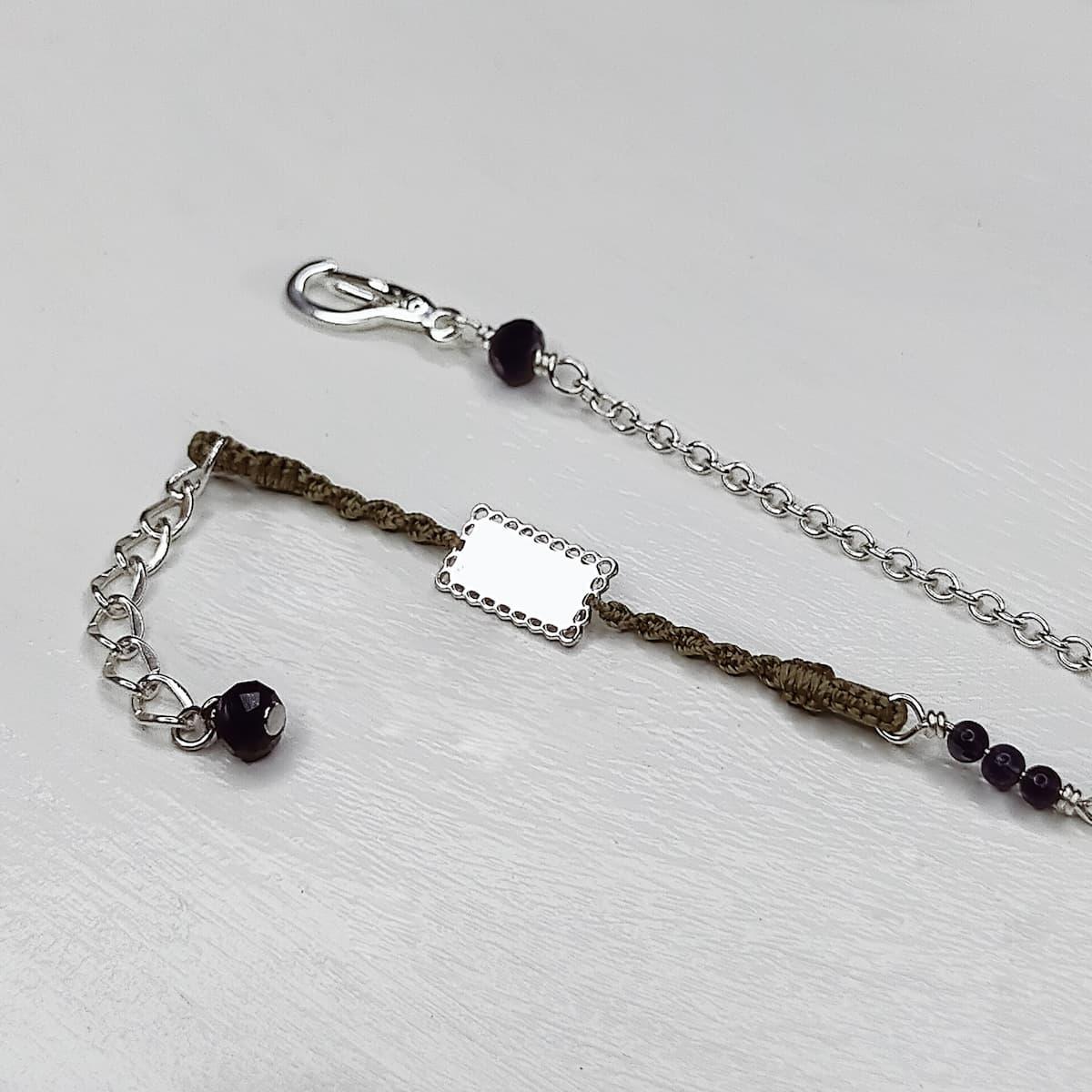 Bracelet «mini-dentelle» rect