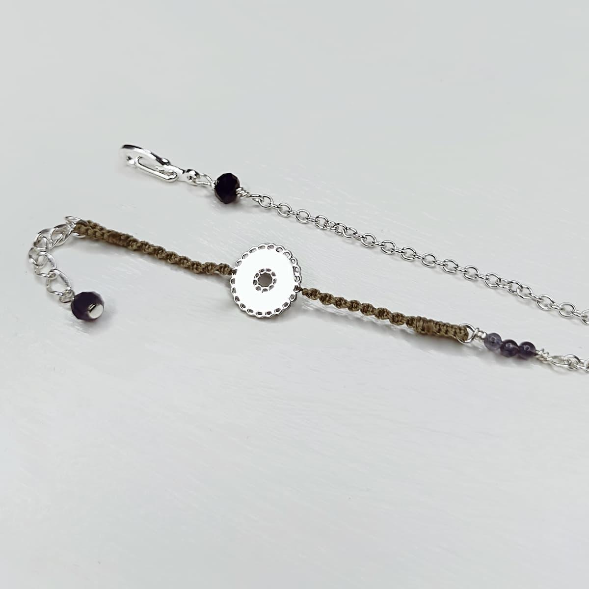 Bracelet «mini-dentelle» ronde